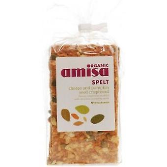 Amisa - スペルト小麦クリスプブレッド - チーズ ・かぼちゃ