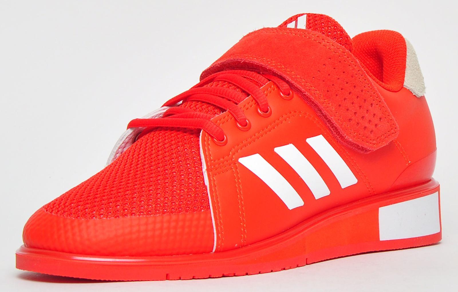 Adidas Power Perfect III Junior czerwony / biały EL9LX