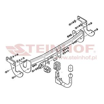 Steinhof Tow Bars And Hitches for i40 Saloon 2012-2017