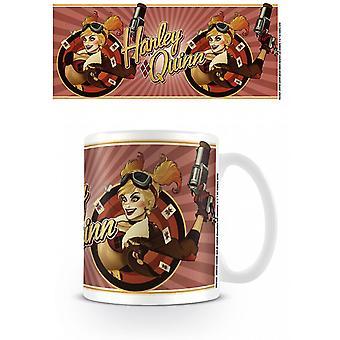 Dc Comics Bombshell Harley Quinn Tasse rouge
