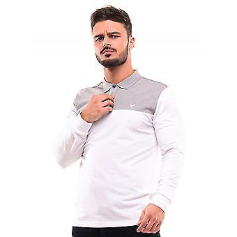 D-ROCK Cayden Polo Shirt White And Grey