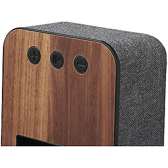 Avenue Shae Fabric And Wood Bluetooth Speaker