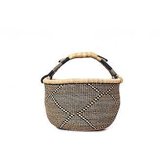 Cosy Coco Bolga Market Basket | Coal