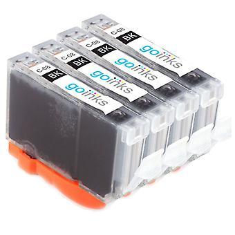 4 sort kompatible Canon CLI-8Bk-printerblækpatroner