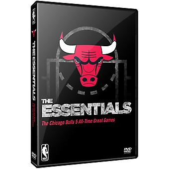 NBA Essential Games of the Chicago Bulls [DVD] USA import