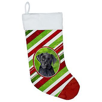 Labrador Candy Cane ferie jul julen strømpe SC9324