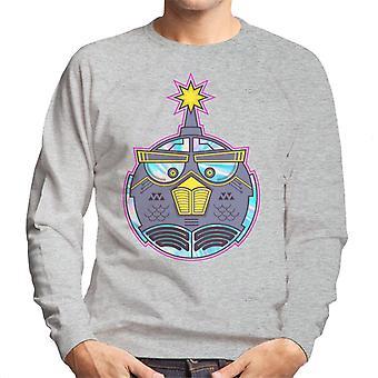 Vred Fugle Mech Bird Bomb Mænd's Sweatshirt