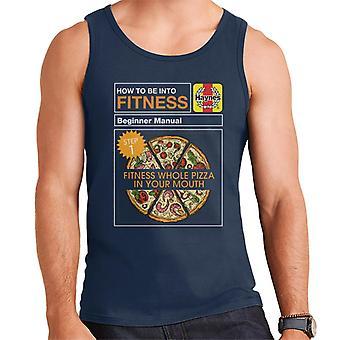 Haynes Fitness Pizza Nybegynner Manuell Menn's Vest