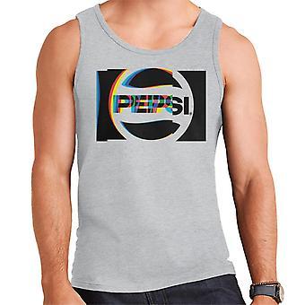 Pepsi 80s Glitch logo miesten liivi