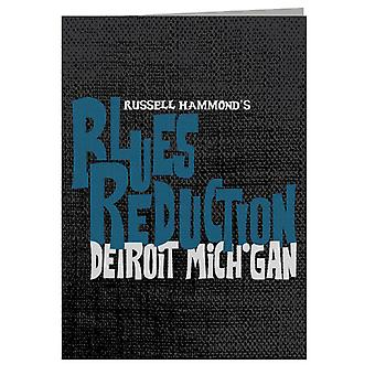 Almost Famous Russell Hammonds Blues Reduction Greeting Card