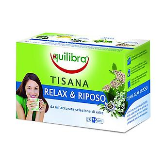 Relax and rest herbal tea 15 infusion bags