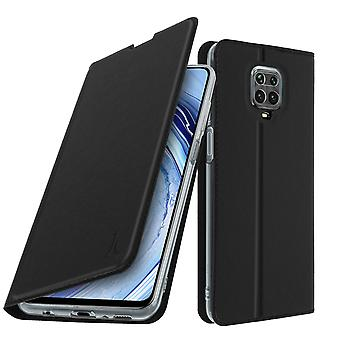 Cover for Xiaomi Redmi 9S / 9 Pro / 9 Pro Max with video holder - black