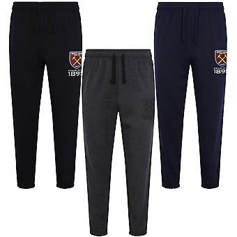 West Ham United Mens Joggers Jog Pants Fleece OFFICIAL Football Gift