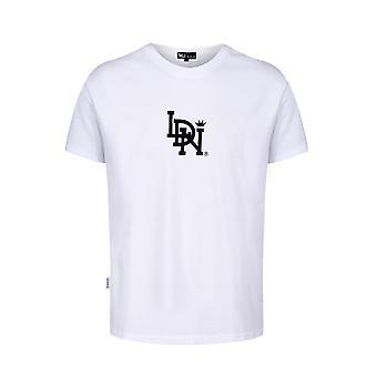 LDN Original T-Shirt Mid Logo White