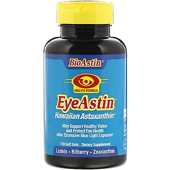 Nutrex Hawaii, BioAstin, Eye Astin, Hawaiian Astaxanthin, 6 mg, 120 Soft Gels
