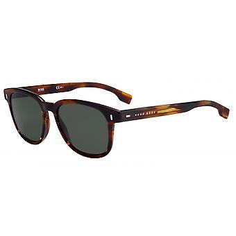 Okulary przeciwsłoneczne Mężczyźni 0956/SEX4/QT Męskie brązowe/zielone