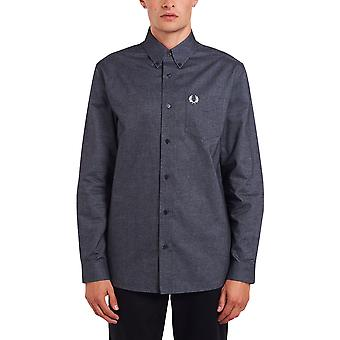 Fred Perry Men's Brushed Oxford Shirt Regular Fit