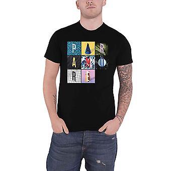 Paramore T Shirt Texture Box Grid Band Logo new Official Mens Black