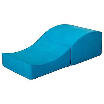 Sex Sofa faltbar blau