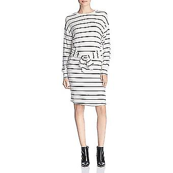 Alison Andrews | Brushed Knit Tie Front Sweaterdress