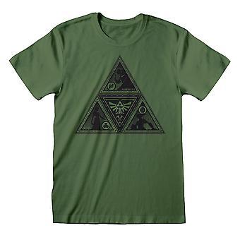 Nintendo Unisex Adult Triforce Legend Of Zelda T-Shirt