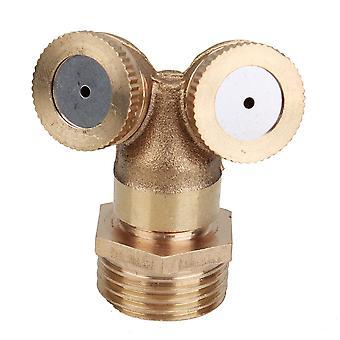 1/2inch manliga gänga munstycket två sätt Spruta Sprinkler Head