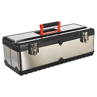 Sealey AP660S Stainless Steel Toolbox 660mm with Tote Tray