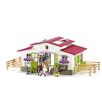 Schleich riding centre with rider and horses play set for children over 3 years