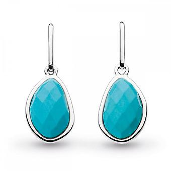 Kit Heath Coast Pebble Turquoise drop oorbellen 5180TQ024