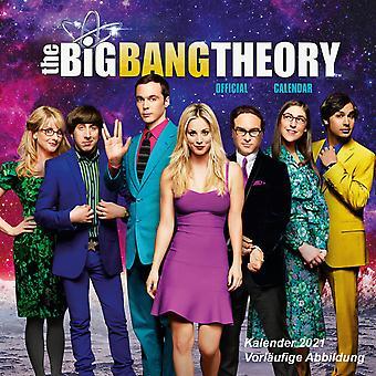 Big Bang Theory Calendar 2021 Official Calendar 2021, 12 months, original English version.