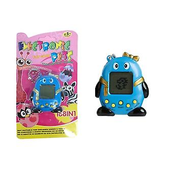Tamagotchi Electronical Animal Egg Blue with bow tie