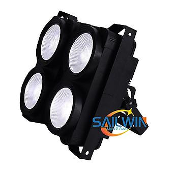 4 * 100w Cob 2in1 Ww / cw Led Blinder Light Teatteriteatteri Fresnel Light Studio