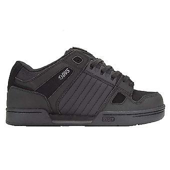 DVS Celsius Leather Shoes - Black / Black Leather