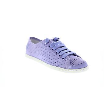 Camper UNO Womens Purple Camurça Escorregada em Sapatos Euro Sneakers