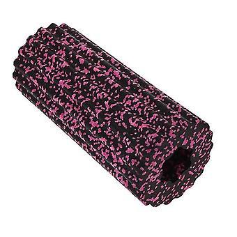 Roller yoga - black and pink massage roll 8680