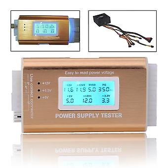 Digital LCD Power Supply Tester Suport Hdd Interface