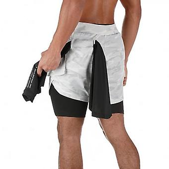 2 In 1 Sport Fitness Shorts