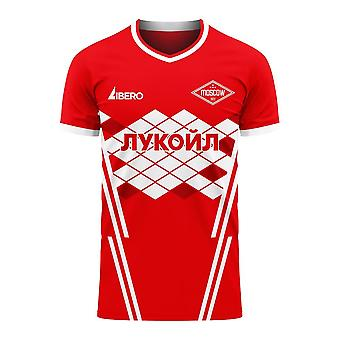 Spartak Moscou 2020-2021 Home Concept Football Kit (Libero)