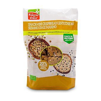 Snack-Mini Crispbread Lentils -Sesame & Sea Salt 110 g