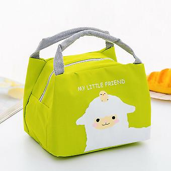 Cartoon Cute Lunch Bag/ Thermal Insulated Lunch Box Tote Food Picnic Bag / Milk