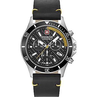 SWISS MILITARY HANOWA - Montre homme - FLAGSHIP RACER CHRONO - 06-4337.04.007.20