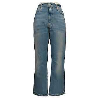 Levi's Men's Straight Jeans 38x30 Classic 514 أزرق جيب