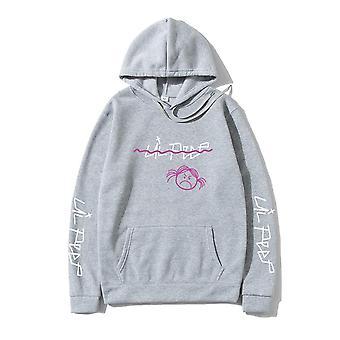 Pullover Collegepaidat Sudaderas Crybaby Huppari Streetwear/naiset