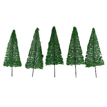 5pcs Model Tree Architecture Model Tree for DIY Scenery Landscape House