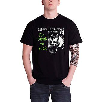 Dead Kennedys Too Drunk To F*ck Official Mens New Black T Shirt