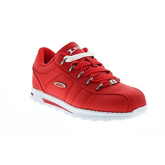 Lugz Charger II Ballistic  Mens Red Canvas Lifestyle Sneakers Shoes