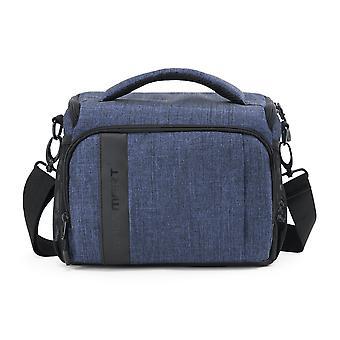 Bagsmart Kamera Umhängetasche, Kamera Messenger Bag Anti-Schock mit wasserdichten Regenabdeckung für slr/dsl