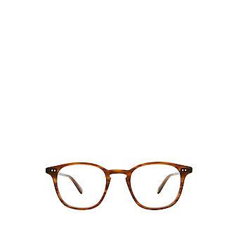 Garrett Leight CLARK demi blonde unisex eyeglasses