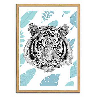 Art-Poster - Tropical tiger - Seven trees
