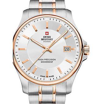 Reloj masculino militar suizo por Chrono SM30200.07, cuarzo, 39 mm, 5ATM